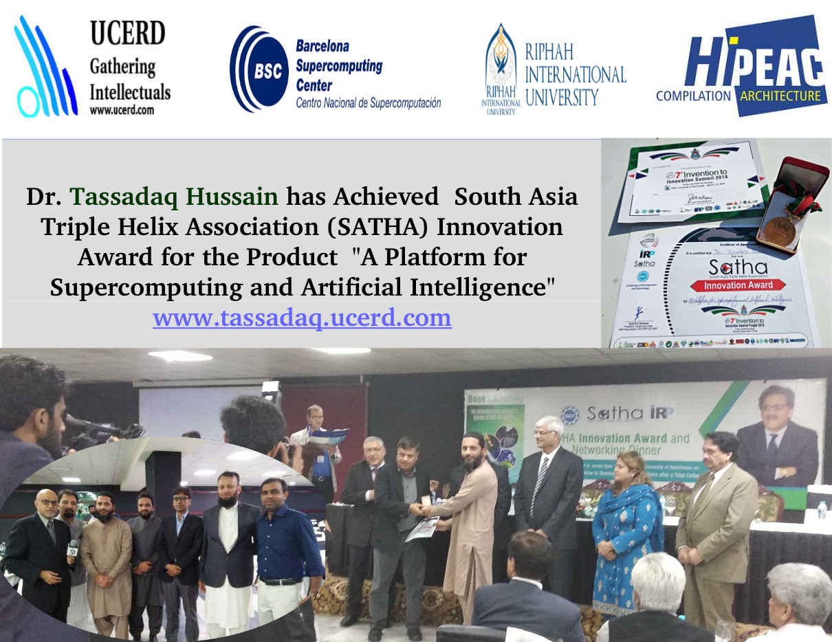UCERD Won SATHA Innovation Award